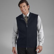 Zip-Front Sweater Vest 083358  WHILE SUPPLIES LAST