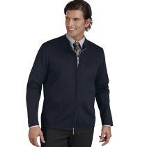 Zip-Front Cardigan Sweater083359