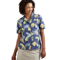 Printed Ripstop Camp Blouse 085007  WHILE SUPPLIES LAST