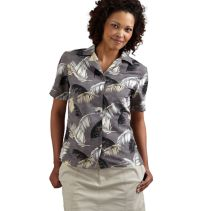 Printed Ripstop Blouse 085007  WHILE SUPPLIES LAST