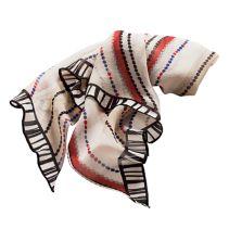 Tunisian Stripe Scarf111196