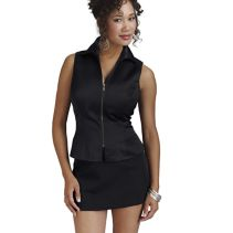 Zip-Front Bustier 112713  WHILE SUPPLIES LAST