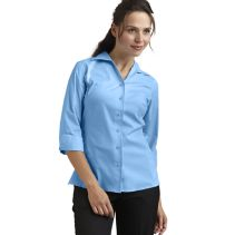 3/4 Slv Tailor Stretch Blouse 113641