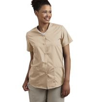 Button-Front Female Scrub Top 114148  WHILE SUPPLIES LAST