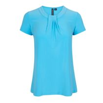 Jewel Neck Blouse 115015  Easy Care