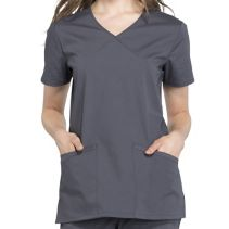 Cherokee Ww655 Mock Wrap Top 116331  PROFESSIONALS