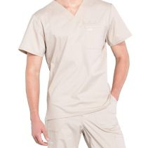 Cherokee Ww675 V-Neck Male Top 116334  PROFESSIONALS