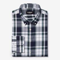 Express Kerrie Plaid  Shirt116394NEW