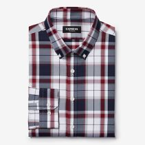Express Kerrie Plaid  Shirt 116394  NEW