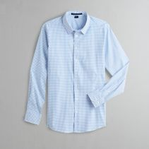 Micro Windowpane Shirt 116528  NEW