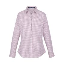 Micro Windowpane Blouse 116529  NEW
