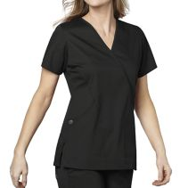 Wonderwink 102 Mock Wrap Top 116720  WonderWork
