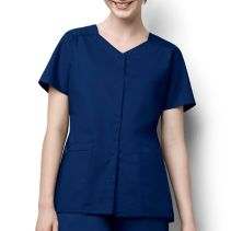 Wonderwink 200 Snap Front Top 116723  WonderWork