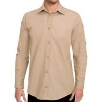 Chefworks Chambray Male Shirt 116756