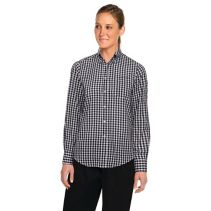 Chefworks Gingham Dress Shirt 117258