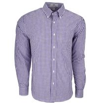 Easy-Care Gingham Check Shirt092562NEW