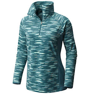 Women's Glacial™ Fleece III Print 1/2 Zip - Plus Size