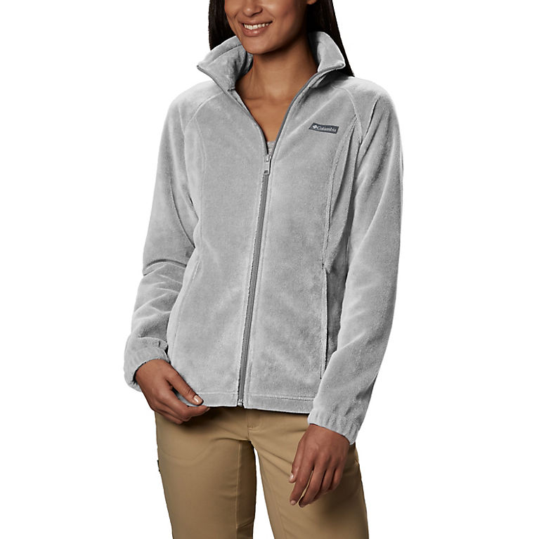 140fb1f1a4468 Cirrus Grey Heather Women's Benton Springs™ Full Zip Fleece - Petite, ...