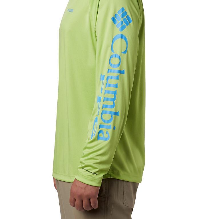 adecb3ced8b6 Green Glow, Yacht Logo Men's PFG Terminal Tackle™ Long Sleeve Shirt- Tall,