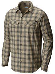 16795b3e5f9 Men's Silver Ridge Plaid Long Sleeve Shirt – Tall | Columbia.com