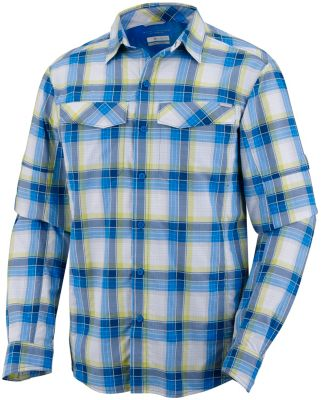 Men's Silver Ridge™ Plaid Long Sleeve Shirt - Tall | Tuggl