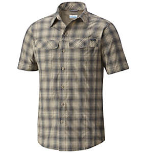 Men's Silver Ridge™ Multi Plaid Short Sleeve Shirt - Big