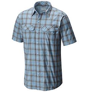 Men's Silver Ridge™ Multi Plaid Short Sleeve Shirt - Big