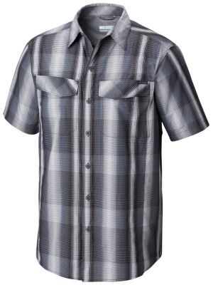 Men's Silver Ridge™ Multi Plaid Short Sleeve Shirt - Tall | Tuggl
