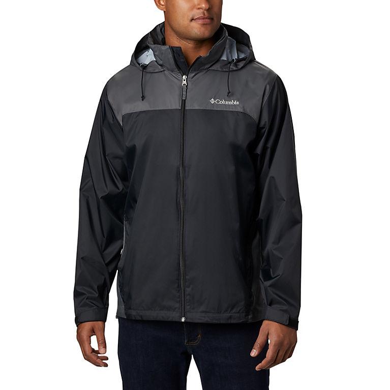 Black, Grill Men's Glennaker Lake™ Rain Jacket, View 0