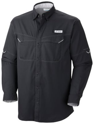 Men's Low Drag Offshore™ Long Sleeve Shirt - Big | Tuggl