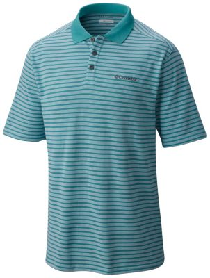 b7929683e86 Men s Elm Creek Wicking Sun Shading Polo Stripe Shirt