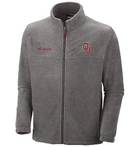 Men's Collegiate Flanker™ II Full Zip Fleece - Oklahoma