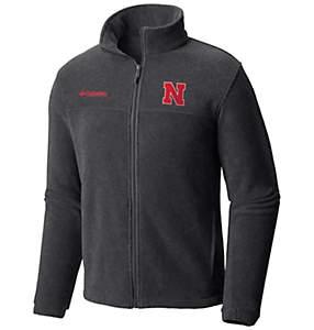 Men's Collegiate Flanker™ II Full Zip Fleece - Nebraska