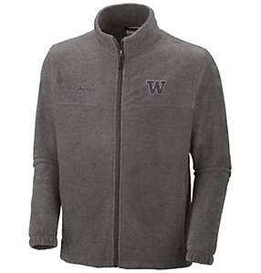 Men's Collegiate Flanker™ II Full Zip Fleece - Washington
