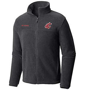 Men's Collegiate Flanker™ II Full Zip Fleece - Washington State