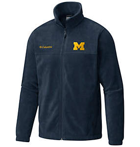 Men's Collegiate Flanker™ II Full Zip Fleece - Michigan