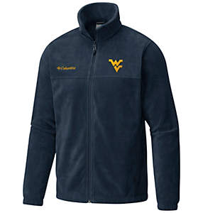 Men's Collegiate Flanker™ II Full Zip Fleece - West Virginia
