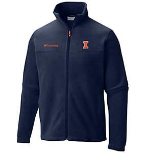 Men's Collegiate Flanker™ II Full Zip Fleece - Illinois