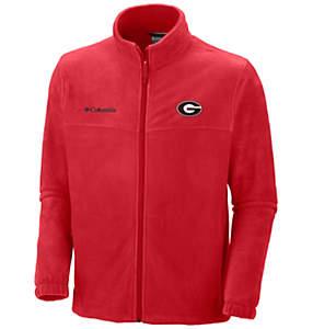 Men's Collegiate Flanker™ II Full Zip Fleece - Georgia