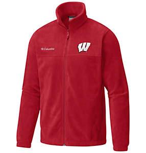 Men's Collegiate Flanker™ II Full Zip Fleece - Wisconsin