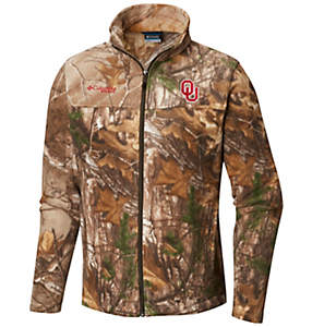 Men's Collegiate Flanker™ II Full Zip Fleece - Oklahoma
