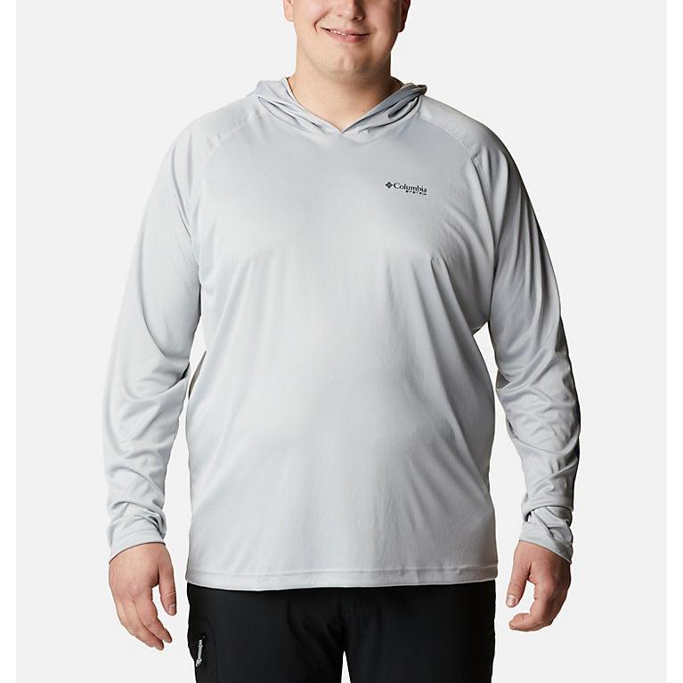 a1884dbb83a Cool Grey, Vivid Blue Logo Men's PFG Terminal Tackle™ Hoodie - Big, View