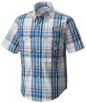 Boys' PFG Super Bonehead™ Short Sleeve Shirt | Tuggl
