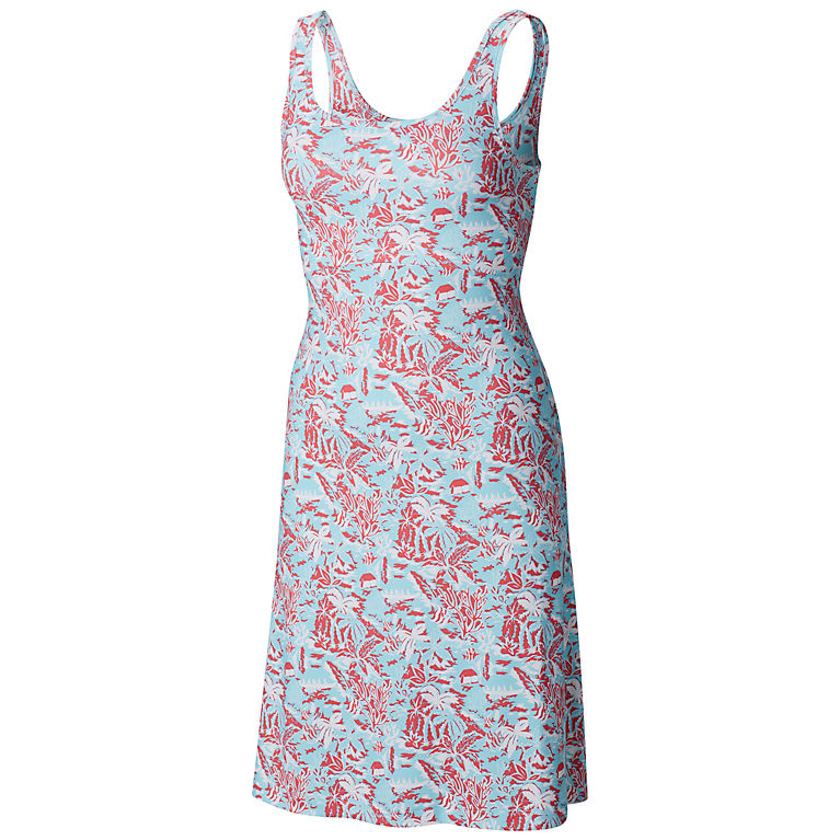 bc360c0a1eaa Coastal Blue Hawaii Print Women's PFG Freezer™ III Dress – Plus Size, View 0