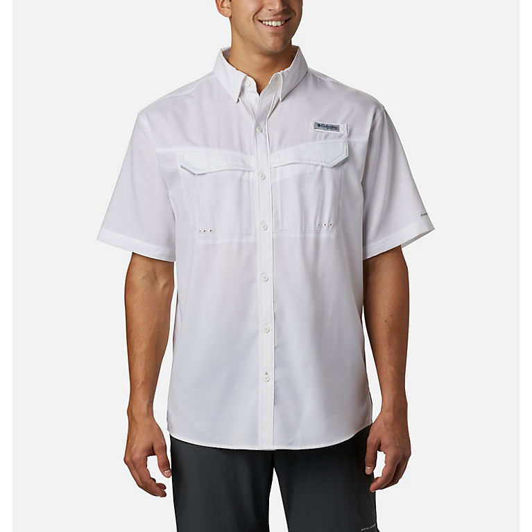 9f79f8911f8 Columbia | Men's PFG Low Drag Offshore Short Sleeve Button Up Shirt ...