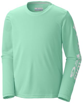 Kids' Terminal Tackle™ Long Sleeve Tee at Columbia Sportswear in Oshkosh, WI | Tuggl