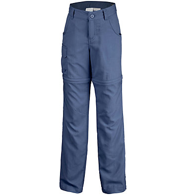 Girls' Silver Ridge™ III Convertible Trousers , front
