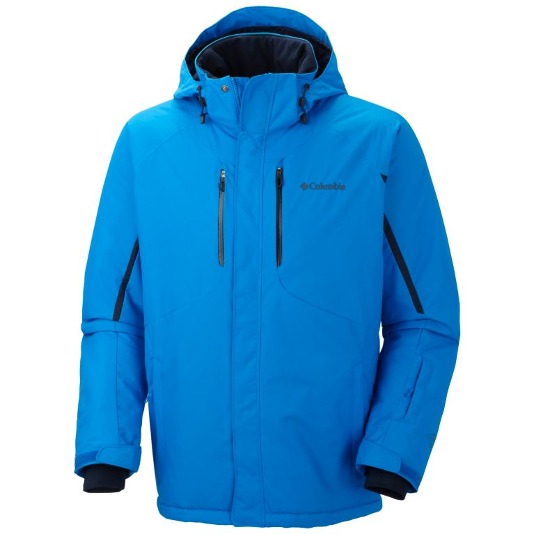 Men s Cubist IV Insulated Hooded Winter Ski Jacket Tall  15ae237919