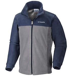 Boys' Dotswarm™ Full Zip Fleece Jacket
