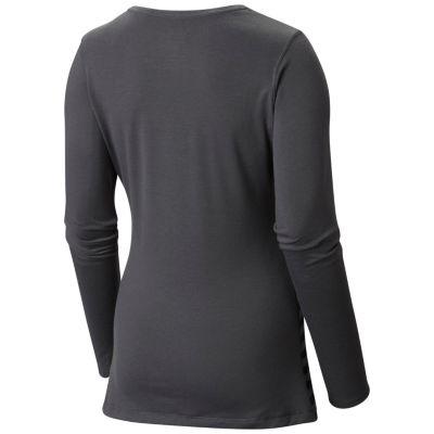 Women's DrySpun™ Stripe Long Sleeve V-neck